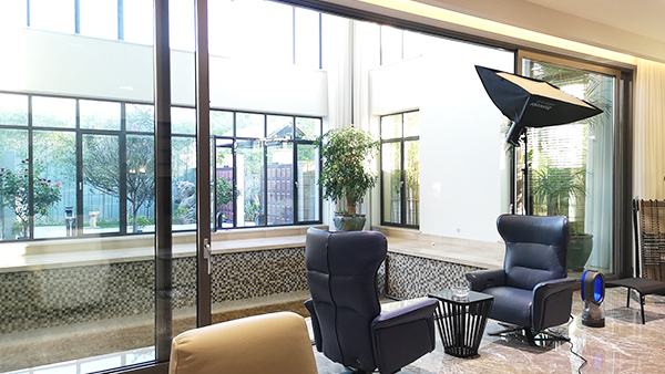 施维尔铝包木门窗用料足,做功仔细,品质值得信赖